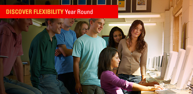 Discover Flexibility Year Round